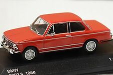 BMW 2002 ti 1971 rouge 1:43 whitebox NOUVEAU & OVP wb195