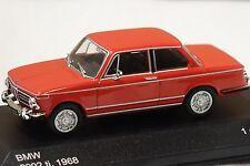 BMW 2002 TI 1971 rot 1:43 Whitebox neu & OVP WB195