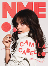 NME Magazine FEBRUARY 2018: CAMILA CABELLO CAMILLA COVER & FEATURE Fifth Harmony