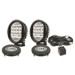 Hella H57-358117171 Value Fit 500 LEDs Driving Lights Kit - Black & Clear