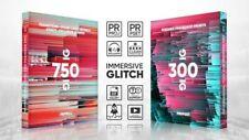 Adobe Premiere Pro 1000+ Glitch Transitions, Titles, Logos, Presets, Sounds fx