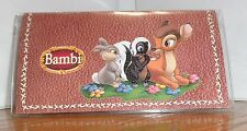 BAMBI CHECKBOOK COVER # 1. WALT DISNEY CARTOONS......FREE SHIPPING