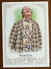 2012 Topps Allen Ginter DALE WEBSTER #283 Daily Surfer 35 Years