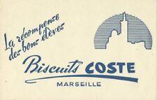 BUVARD 106094 COSTE BISCUITS MARSEILLE bleu-vert