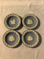 "Blue Wedgewood  Decorative Mini Plate Bundle On 4 11cm/ 4.25"" Inches Joblot"