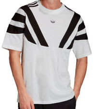 Tamaño Grande-Adidas Originales Trébol 3 Rayas Balanta T Shirt-blanco-ek2993