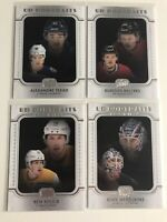 2019-20 Upper Deck Series 1 Hockey ROOKIE UD PORTRAITS Lot (4 cards)