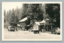 Baxters California—Route 40 Photo RPPC Delivery Truck Greyhound Bus Coca Cola 31