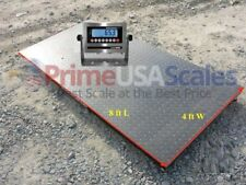5 Year Warranty 5,000 lb 4x8 Pallet Floor Scale Ntep Legal 4 Trade Ss Indicator