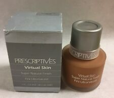 Prescriptive Virtual Skin Super Natural Finish 1oz ~ Real Ginger 27 Warm - Rare!
