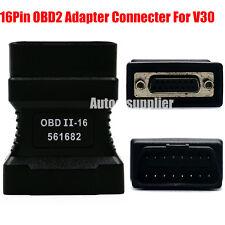 Original Autoboss V30 16PIN OBDII Adapter OBD2 Diagnostic Connector