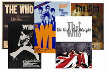 THE WHO - Set of 5 - A4 POSTER STAMPE #1