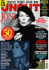 UNCUT #199 12/2013 JONI MITCHELL King Crimson AC/DC + BLUE NOTES CD @New@