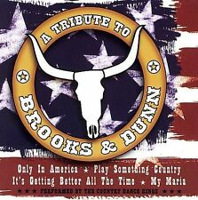 FREE US SHIP. on ANY 2 CDs! NEW CD Country Dance Kings: Tribute to Brooks & Dunn
