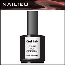 """gel sigillante indurente Finishgel """"NAIL1EU TOP/Base"""" 15ml/ UV per unghie"""