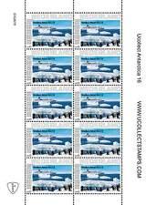 Nederland 2012 Ucollect Antarctica 16 pinguins schip vel  postfris/mnh