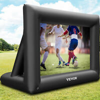VEVOR 4*6m 24ft Inflatable Movie Screen 16:9 Outdoor Projector Screen Portable