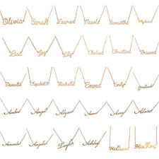 Creative Choker Custom Name Pendant Chain Customized Nameplate Necklace Jewelry