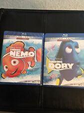 Finding Nemo & Finding Dory Blu-Ray + Dvd