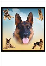 Pastor Alemán placa De Pared Letrero De Metal alsacianos pared diseño de perro de suspensión de imagen