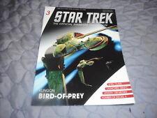 Star Trek Starships Collection Magazine #3 - Klingon Bird Of Prey
