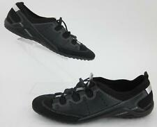 ECCO Yoga Style Fitness Shoes Black Silver EU 41 / US 10-10.5 Worn Once!