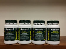Lot of (4) Genacol Bioactive Collagen Matrix 180 Capsules