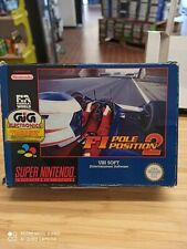 Super nintendo F1 Pole Position 2 PAL COMPLETO