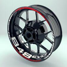 Adesivo Cerchio moto adesivo per pneumatici wheelsticker DUCATI_848EVO Set