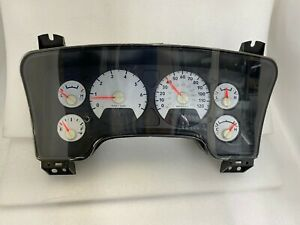 2006 Dodge Ram 1500 2500 Speedometer Gauge Cluster P56049831AI WITH speed sens