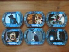 X-Files Seasons 10 & 11 - Complete 6 Card Monsters, Aliens, and More Insert Set