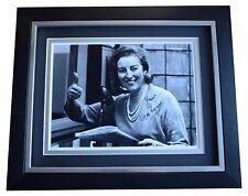 Vera Lynn SIGNED 10x8 FRAMED Photo Autograph Display World War 2 Music COA