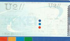 BIGLIETTO TICKET U2 CONCERTO ROMA 23 LUGLIO 2005