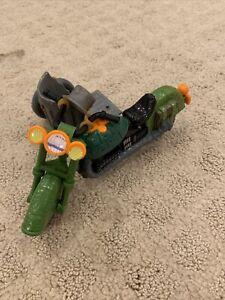 Sewer Cycle Motorcycle with Sidecar 1989 Vintage Teenage Mutant Ninja Turtles