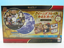 NEW SEALED JAPANESE Queen's Blade Karuta Card Set MegaHouse