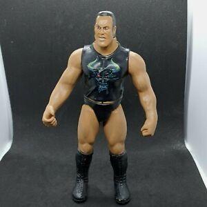 WWF WWE Back Talkin Crushers Superstar The Rock Action Figure Jakks Pacific 1999