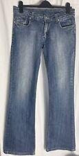 Victoria Beckham For Rock & Republic Jeans, Size 32, Blue UK FIT 12/ 14