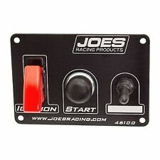 JOES Racing Products 46100 Switch Panel, Ignition, Start, 1 Accessory - Black