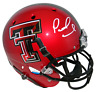 PATRICK MAHOMES SIGNED AUTOGRAPHED TEXAS TECH RED RAIDERS FULL SIZE HELMET JSA