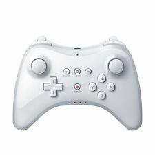 Manette sans Fil Bluetooth Jeu Manette de Jeu Joystick pour Nintendo Wii U blanc