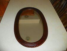 Oval Mahogany Wall Mirror (Mr5)