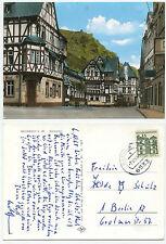 26717-Bacharach-piazza del mercato-cartolina andato, 7.12.1965