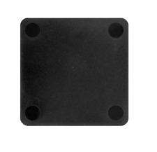 250pcs - 70mm x 70mm, 5mm Thick Solid Black Tilt Panel Packers/Shims