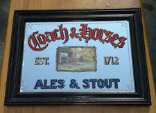 "Vintage Coach & Horses Pub Mirror 20"" by 15"""