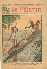 Prince of Wales de Galles Lake Lacs South Africa Afrique du Sud Travel 1930