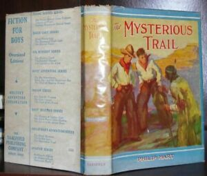 Hart, Philip THE MYSTERIOUS TRAIL  1st Edition 1st Printing