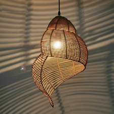Pendant Lamp Shade Wooden Creative Shape Ceiling Chandelier Cover Home Lampshade