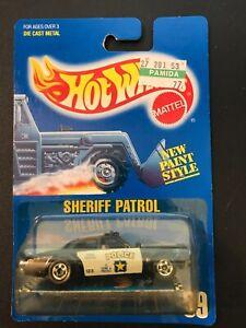 HOT WHEELS 1989 BLUE CARD SHERIFF PATROL #59 VHTF