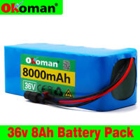 36V 8AH Li-ion Battery Volt Rechargeable Bicycle 500W E Bike Electric
