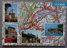 YVOIRE MULTIVUES CARTE ROUTIERE      postcard